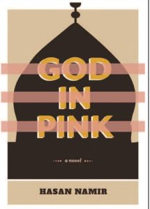 Book cover, God in Pink